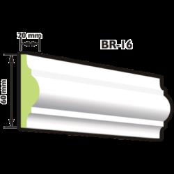BR-16 Keretező díszléc (200cm)