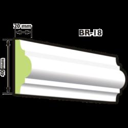 BR-18 Keretező díszléc (200cm)