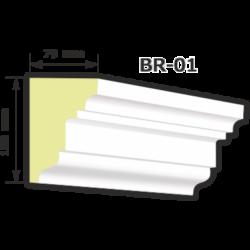 BR-01 Kültéri díszléc (125cm)