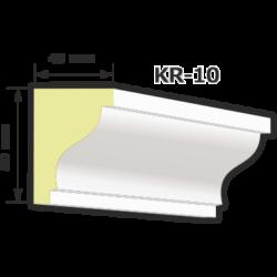 KR-10 Kültéri díszléc (125cm)