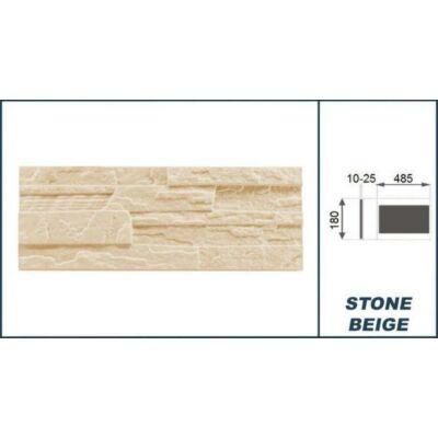 """3D Kőhatású burkoló """"stone"""" bézs (0,52 m2)"""