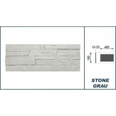 """3D Kőhatású burkoló """"stone"""" szürke (0,52 m2)"""