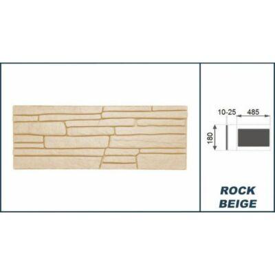 """3D Kőhatású burkoló """"rock""""  bézs (0,52 m2)"""