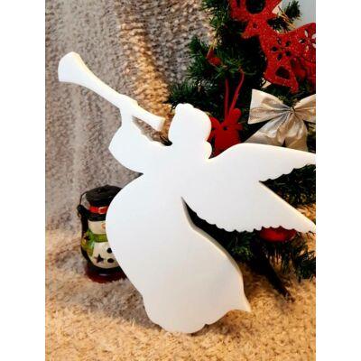 Karácsonyi dekoráció - Nagy angyal