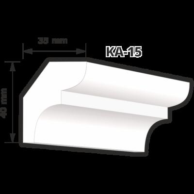 KA-15 Beltéri díszléc (200cm)