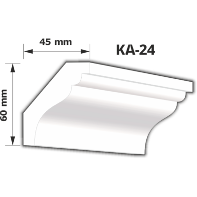 KA-24 Beltéri díszléc (200cm)