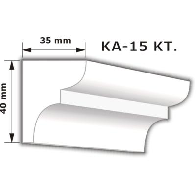 KA-15 Karnistakaró díszléc (200cm)