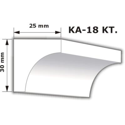 KA-18 Karnistakaró díszléc (200cm)