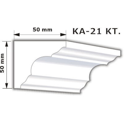 KA-21 Karnistakaró díszléc (200cm)
