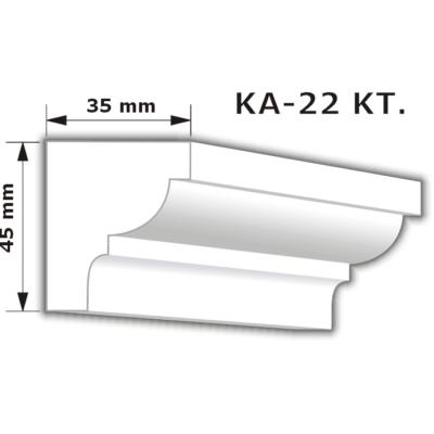 KA-22 Karnistakaró díszléc (200cm)