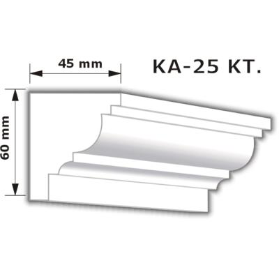 KA-25 Karnistakaró díszléc (200cm)