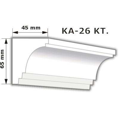 KA-26 Karnistakaró díszléc (200cm)