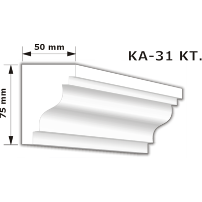 KA-31 Karnistakaró díszléc (200cm)