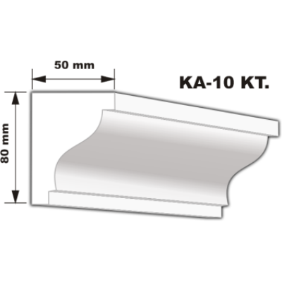 KA-10 Karnistakaró díszléc (200cm)