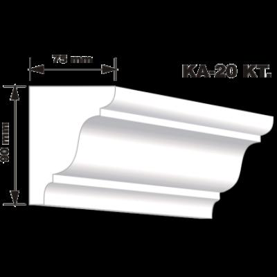 KA-20 Karnistakaró díszléc (200cm)