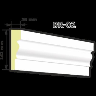 BR-02 Kültéri díszléc (125cm)