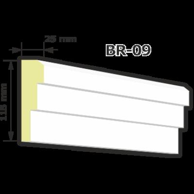 BR-09 Kültéri díszléc (125cm)