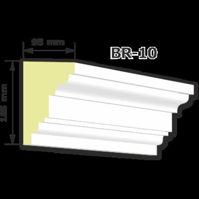 BR-10 rászabott ékkő