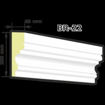 BR-22 Kültéri díszléc (125cm)