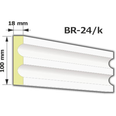 BR-24/k Kültéri díszléc (125cm)