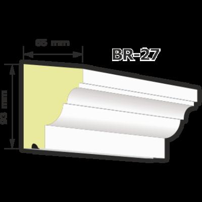 BR-27 rászabott ékkő