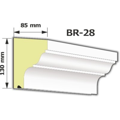 BR-28 Kültéri díszléc (125cm)