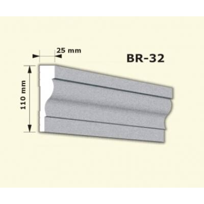BR-32 rászabott ékkő