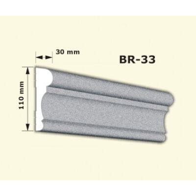 BR-33 rászabott ékkő