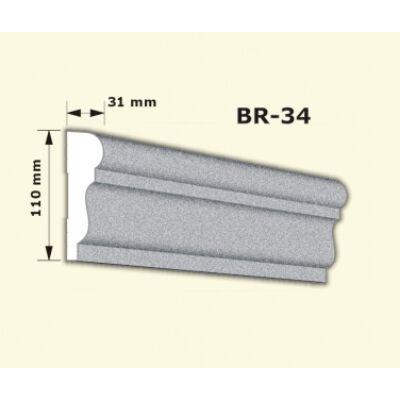 BR-34 rászabott ékkő
