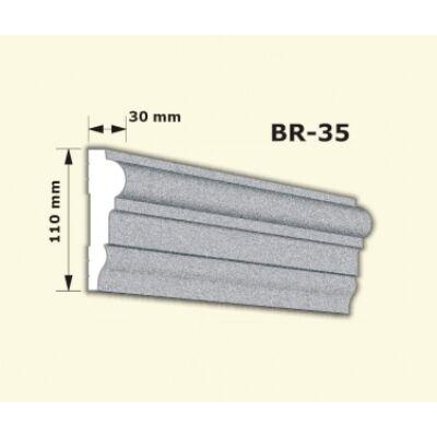 BR-35 rászabott ékkő