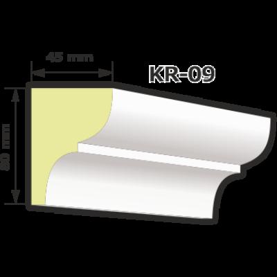 KR-09 Kültéri díszléc (125cm)