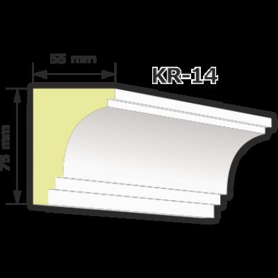 KR-14 Kültéri díszléc (125cm)