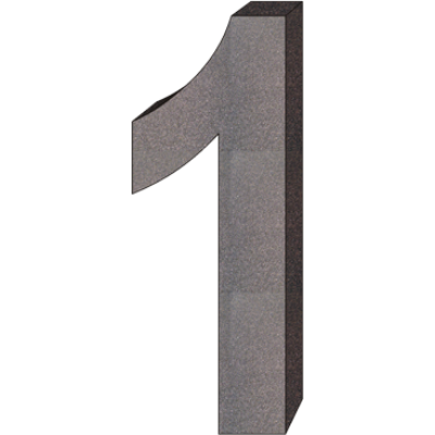 """""""1"""" önálló házszám"""