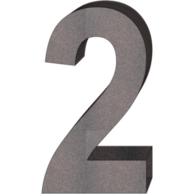 """""""2"""" önálló házszám"""