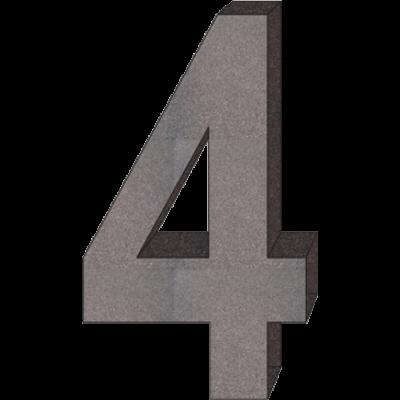 """""""4"""" önálló házszám"""