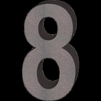 """""""8"""" önálló házszám"""