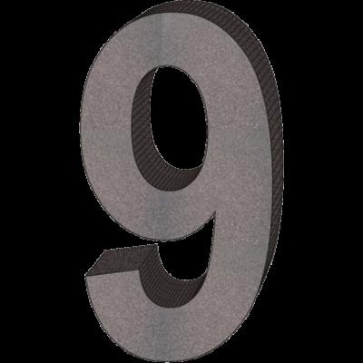 """""""9"""" önálló házszám"""